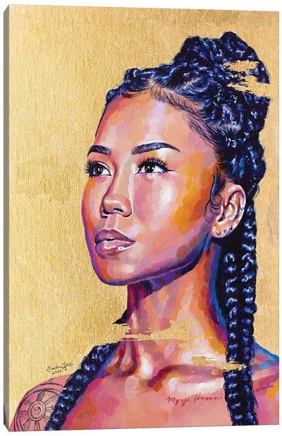 Jhené Aiko Canvas Art Print