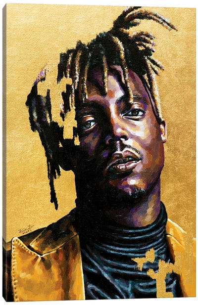 Juice Wrld Canvas Art Print