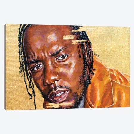 Kendrick Lamar Canvas Print #JLU16} by Jackie Liu Art Print