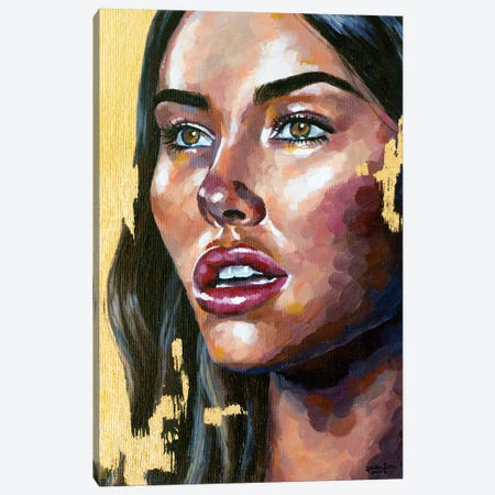 Madison Beer Canvas Print #JLU18} by Jackie Liu Canvas Art