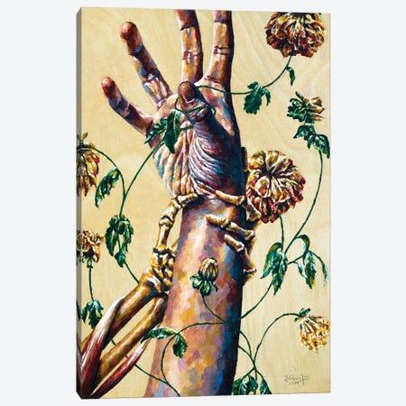 Mortality Canvas Print #JLU19} by Jackie Liu Canvas Wall Art