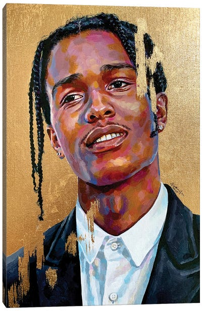 Asap Rocky Canvas Art Print