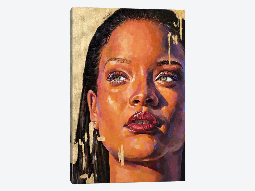 Rihanna by Jackie Liu 1-piece Canvas Artwork