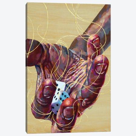 Risk Canvas Print #JLU22} by Jackie Liu Art Print