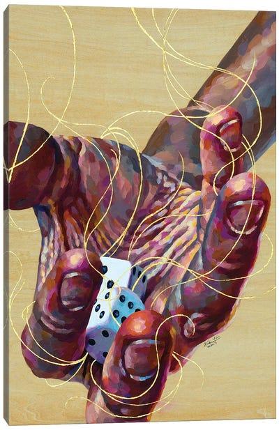 Risk Canvas Art Print