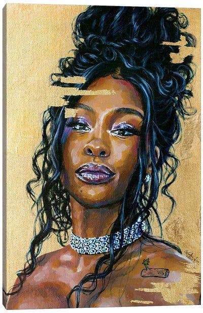 Sza Canvas Art Print