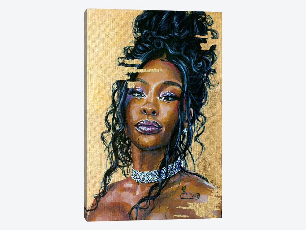 Sza by Jackie Liu 1-piece Canvas Art
