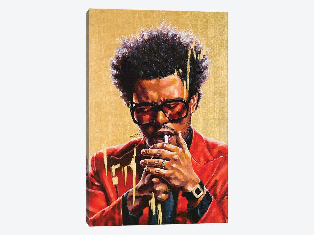 The Weeknd by Jackie Liu 1-piece Canvas Print
