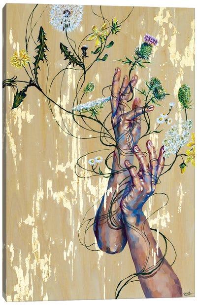 Weeds Canvas Art Print