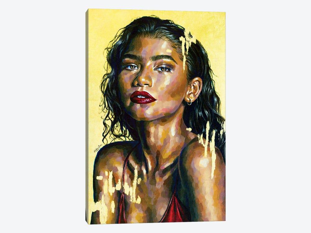Zendaya by Jackie Liu 1-piece Canvas Artwork