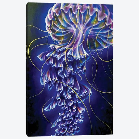 Ethereal Canvas Print #JLU2} by Jackie Liu Art Print