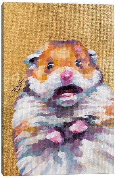 Hamster Meme Canvas Art Print