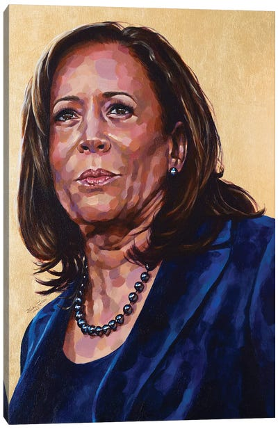 Madam Vice President Canvas Art Print