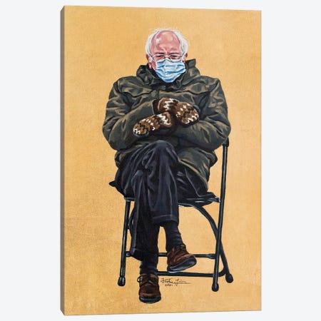 Bernie Canvas Print #JLU36} by Jackie Liu Art Print