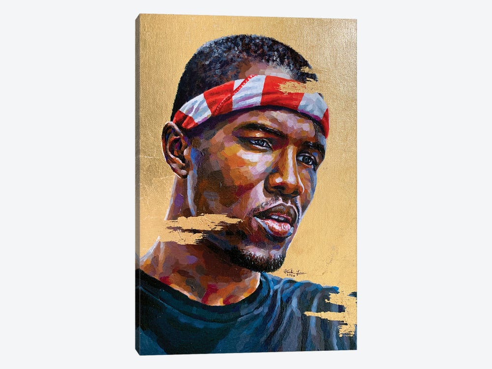 Frank Ocean by Jackie Liu 1-piece Canvas Wall Art