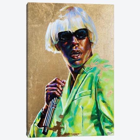 Tyler, The Creator Canvas Print #JLU8} by Jackie Liu Canvas Print