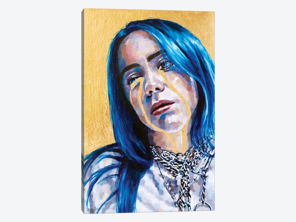 Billie Eilish by Jackie Liu 1-piece Canvas Art
