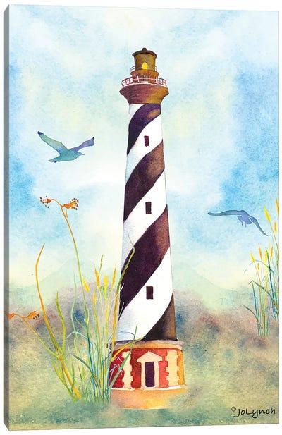 Lighthouse Cape Hatteras II Canvas Art Print