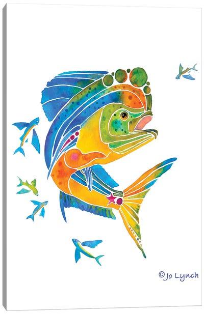 Mahi Sport Fish Canvas Art Print