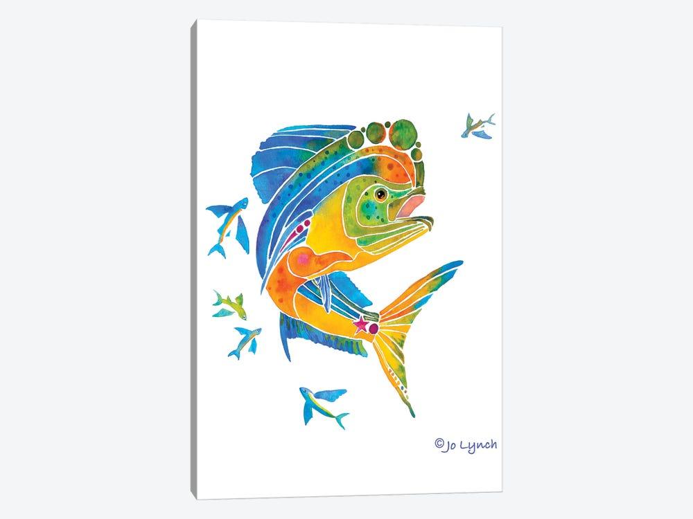 Mahi Sport Fish by Jo Lynch 1-piece Canvas Art