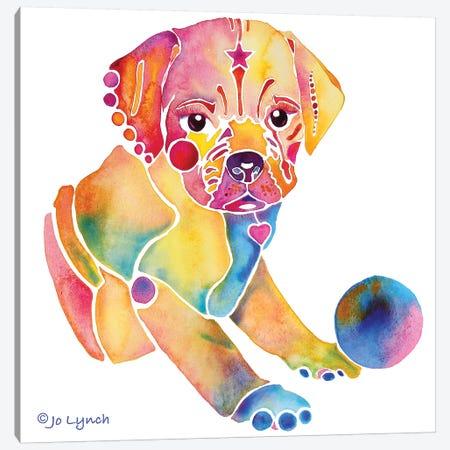 Puggle Dog Puppy Canvas Print #JLY125} by Jo Lynch Canvas Art Print