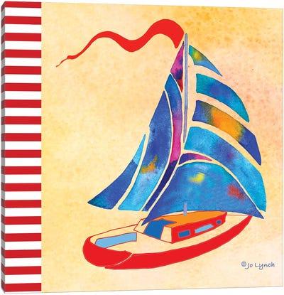 SailBoat Summer Canvas Art Print