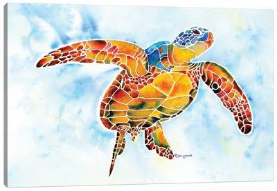 Sea Turtle I - Gentle Giant Canvas Art Print