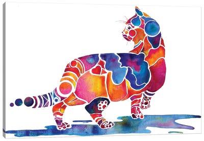 Cinnamon Cat Canvas Art Print