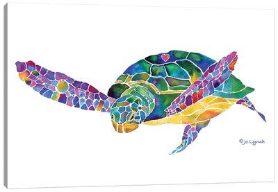 Sea Turtle Ocean 6 Canvas Art Print