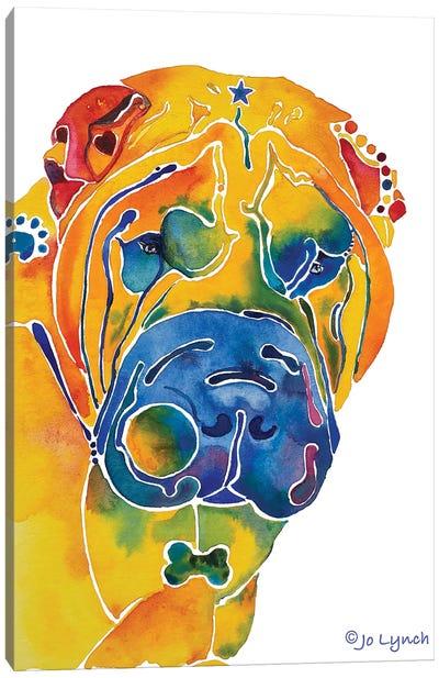 SharPei Dog Breed Canvas Art Print