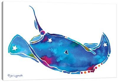 Sting Ray Canvas Art Print