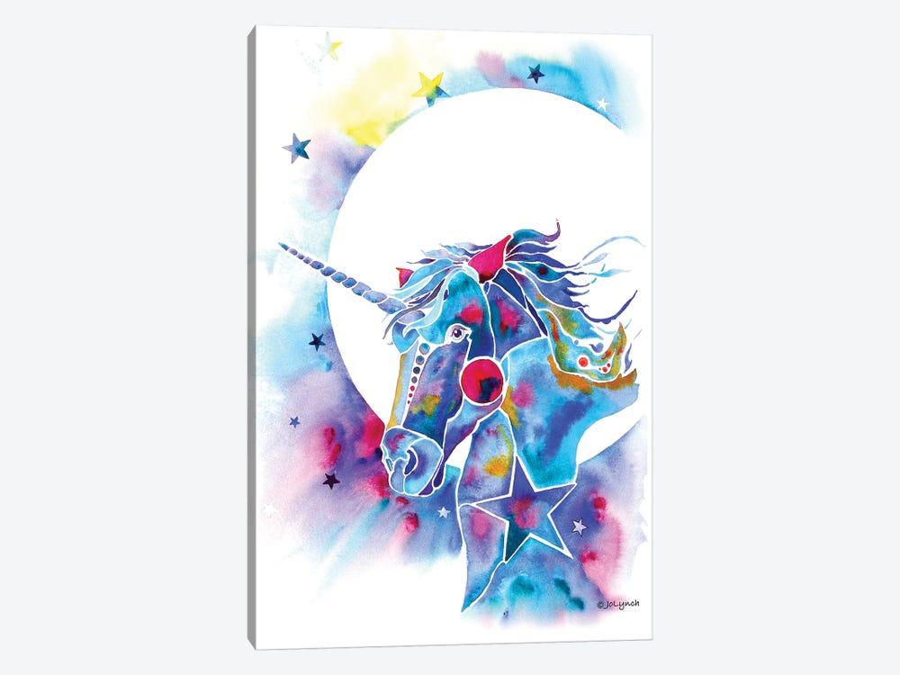 Unicorn by Jo Lynch 1-piece Canvas Wall Art
