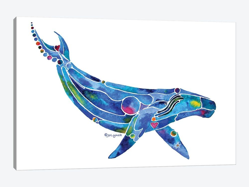 Whale Humpback Ocean by Jo Lynch 1-piece Canvas Art Print