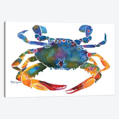 Crabby  Canvas Print #JLY15} by Jo Lynch Art Print