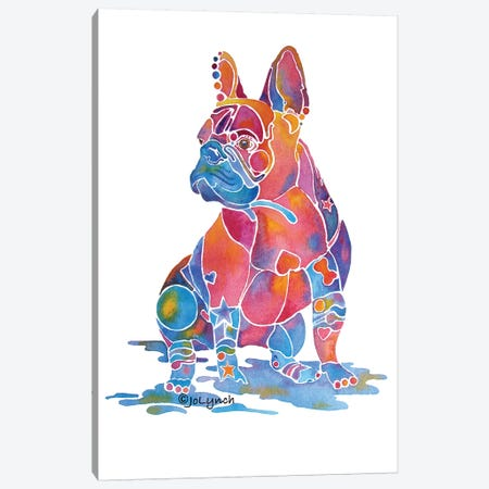 French Bulldog Louise Canvas Print #JLY26} by Jo Lynch Canvas Art