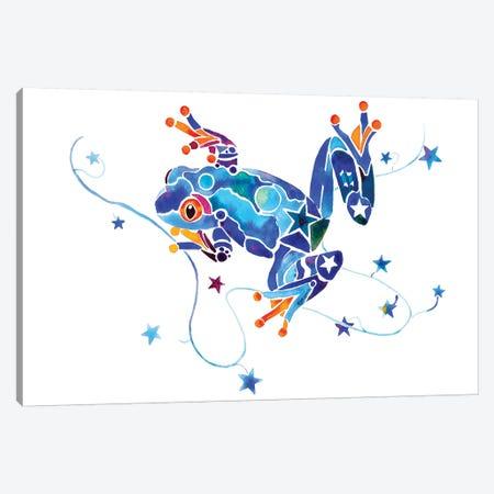 Frog X Canvas Print #JLY28} by Jo Lynch Canvas Art Print