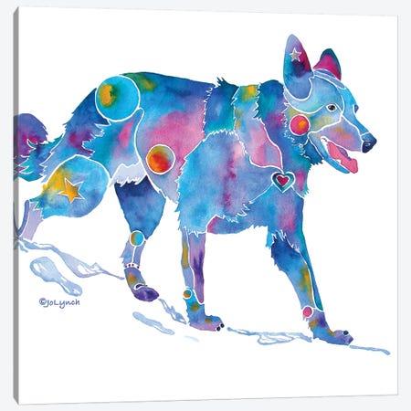 German Shepherd Canvas Print #JLY29} by Jo Lynch Canvas Print