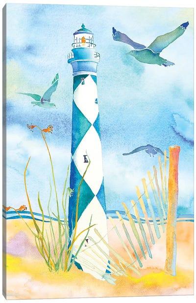 Lighthouse Carolinas II Canvas Art Print