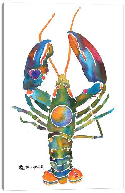 Lobster Bent Claws Canvas Art Print