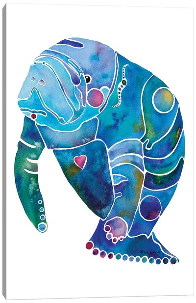 Manatee II Canvas Art Print