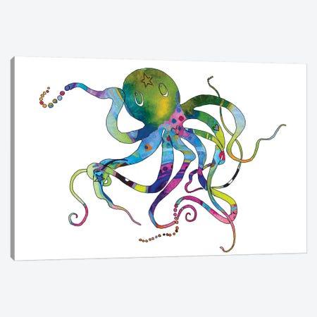 Octopus Canvas Print #JLY43} by Jo Lynch Canvas Art Print