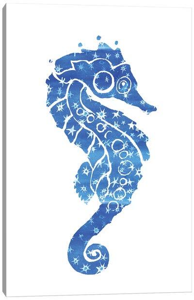 Seahorse Stars Canvas Art Print