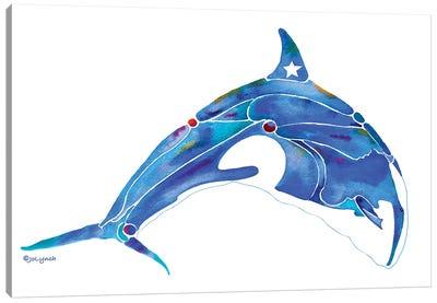 Whale Orca Canvas Art Print