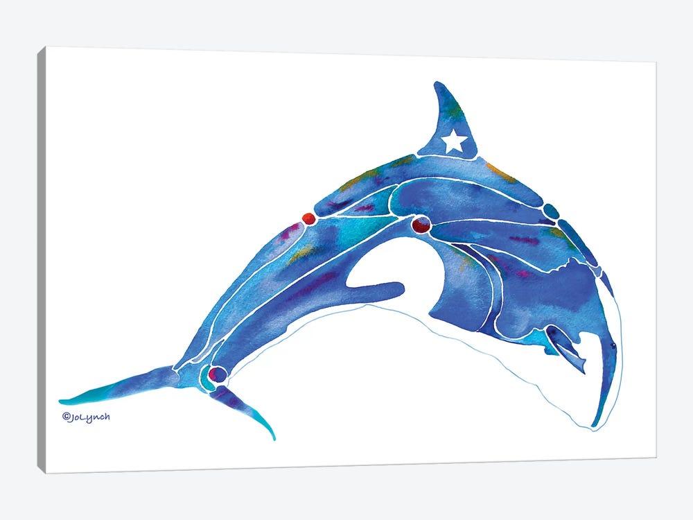 Whale Orca by Jo Lynch 1-piece Canvas Art