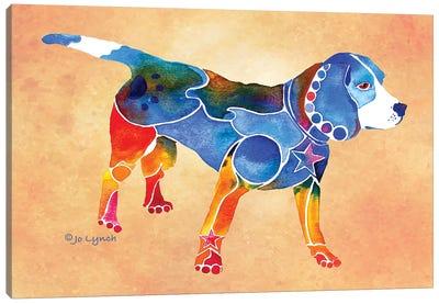Beagle Dog Canvas Art Print