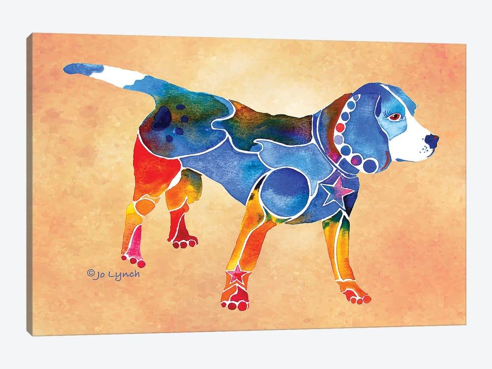 Beagle Dog by Jo Lynch 1-piece Canvas Wall Art