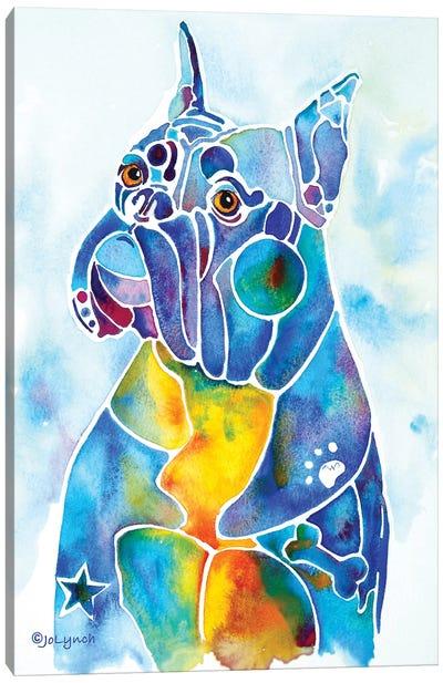 Boxer Dog Breed Canvas Art Print