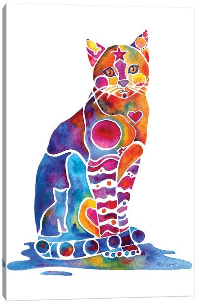 Carley Cat Canvas Art Print