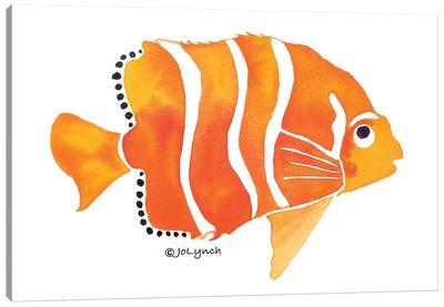 Gold Fish Orange Canvas Art Print