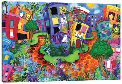 Lady Bug Lane Canvas Art Print